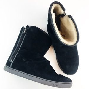 UGG Australia Black Boots Classic Women's Size 10